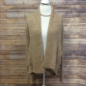 Cozy chunk knit Element oatmeal cardigan